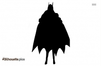 Cartoon Catwoman Doll Silhouette