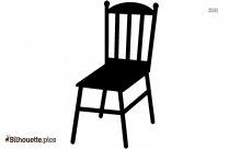 Dinning Chair Silhouette Vector And Graphics