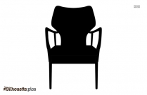 Cartoon Chair Silhouette Vector And Graphics