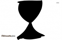 Cartoon Chalice Jar Silhouette
