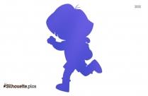 Dora Animated Cartoon Character Silhouette
