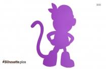Cartoon Characters Dora The Explorer Buji Boots Silhouette