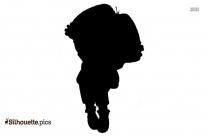 Dora The Explorer Silhouette Vector Clipart