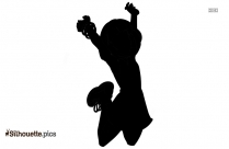 Jumping Boy Background Silhouette