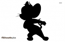 Cartoon Characters Jerry Mouse Silhouette