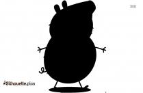 Sponge Bob Anime Silhouette