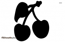 Apple Fruit Clipart Silhouette Image And Vector