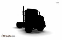 Cartoon Chevy Truck Silhouette