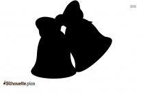 Cartoon Bell Silhouette Image