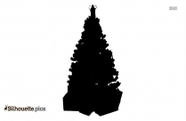 Christmas Tree Silhouette Picture
