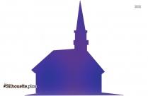 Cartoon Church Silhouette Image