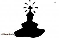Cartoon Church Clipart Silhouette