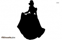 Cinderella Drawing Silhouette Image