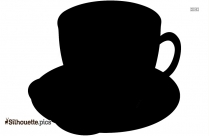 Cartoon Coffee Cup Silhouette