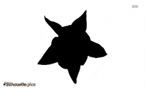 Black Tulip Bouquet Silhouette Image