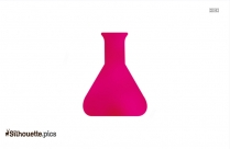 Chemistry Erlenmeyer Flask Silhouette Image