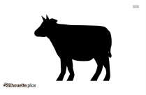 Chibi Cow Cute Drawing Silhouette