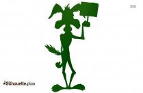 Funny Cartoon Animals Silhouette