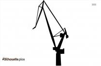 Industrial Cranes Silhouette