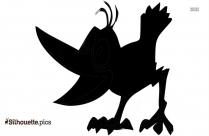 Toucan Cartoon Silhouette