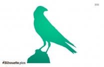 Crow Clipart Silhouette