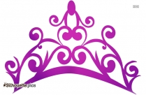 Princess Crown Silhouette Free Vector Clipart