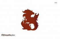 Dragons World Night Wind Dragon Clip Art Silhouette