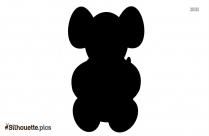 Baby Cheetah Silhouette Clip Art