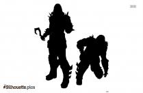 Cartoon Dc Comics Character Silhouette