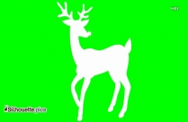 Rudolph Deer Silhouette For Download