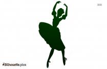 Ballerina Paper Doll Silhouette Clip Art