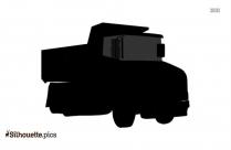 Cartoon Dump Truck Silhouette Clip Art
