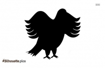 Bald Eagle Flying Silhouette Vector