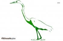 Free Cartoon Bluebird Silhouette
