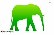 Free Elephant Head Drawing Silhouette Pic