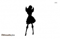 Female Angel Silhouette Background