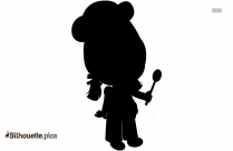 Cartoon Chef Clip Art Silhouette