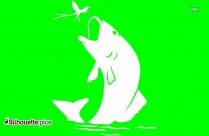 Shark Silhouette,Sea Animals Vector Image