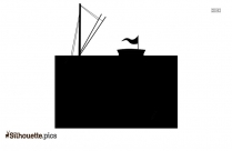 Pirate Ship Drawing Silhouette Clip Art