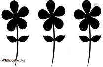Gerberas Flower Vector Silhouette