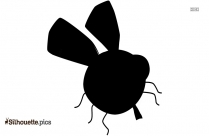 Cartoon Fly Silhouette Image And Vector