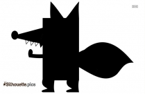 Fox Cartoons Silhouette Image And Vector