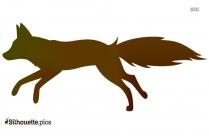 Cartoon Fox Silhouette Image