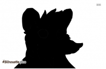 Cartoon Fox Silhouette Art