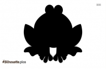 Cartoon Frog Drawing Vector Silhouette Free Download