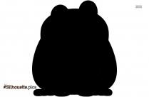 Cartoon Frog Silhouette Clip Art