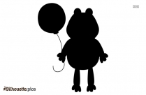 Cartoon Frog Silhouette Clip Art For Free