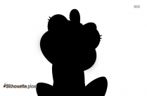Cartoon Frog Silhouette Drawing