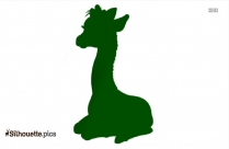 Giraffe Cartoon Silhouette Clip Art