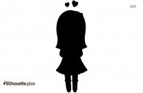 Cartoon Girl Child Silhouette